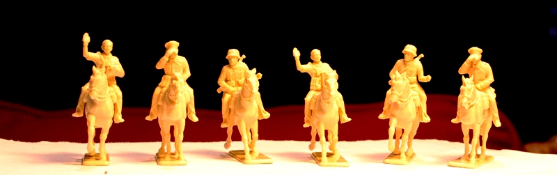 German Cavalry WWII von Waterloo 1815 6reiter