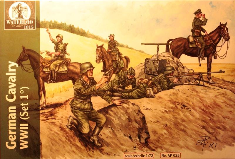 German Cavalry WWII von Waterloo 1815 Schachtel