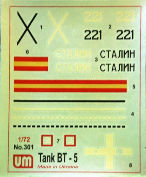 BT-5 von UM Decals