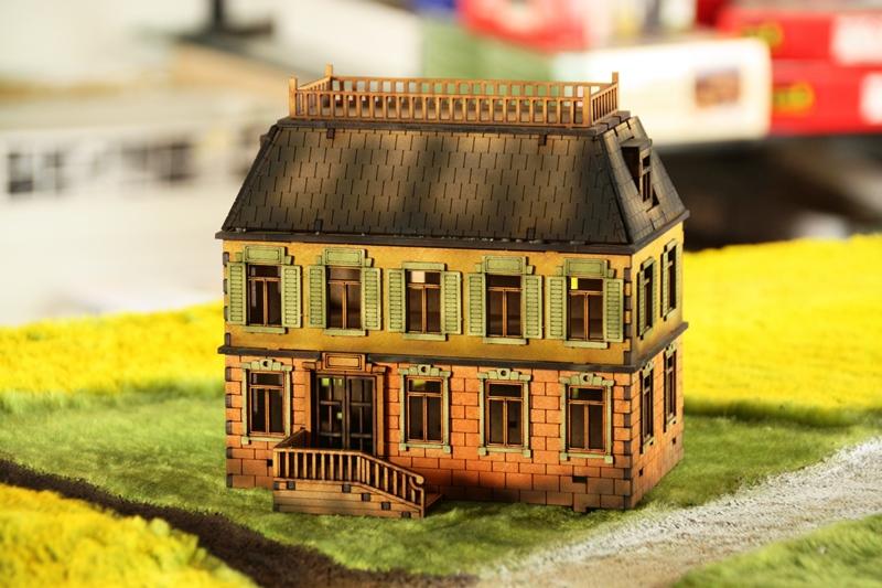 Gebäudeserie von SARISSA Precision Chateau02