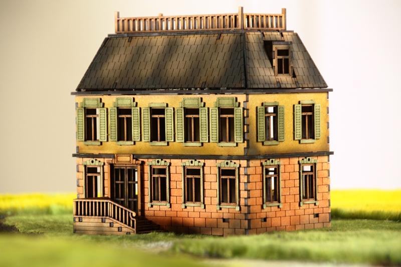 Gebäudeserie von SARISSA Precision Chateau03