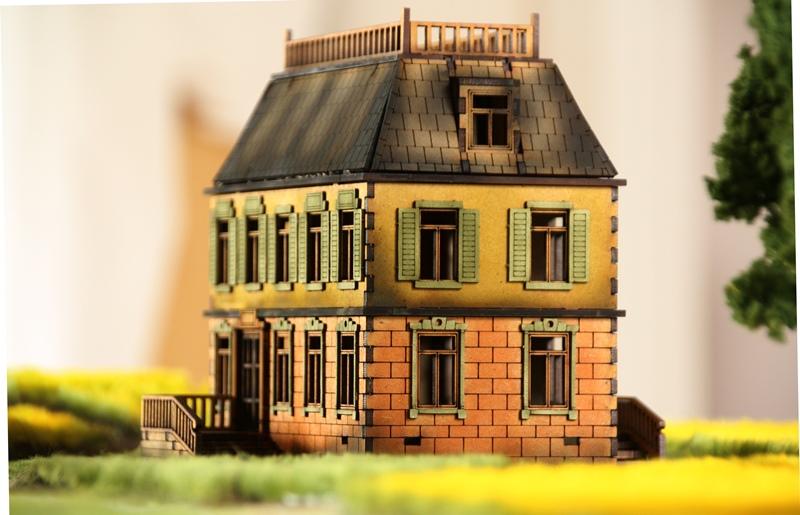 Gebäudeserie von SARISSA Precision Chateau04