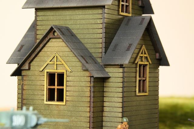 Gebäudeserie von SARISSA Precision Kirche2